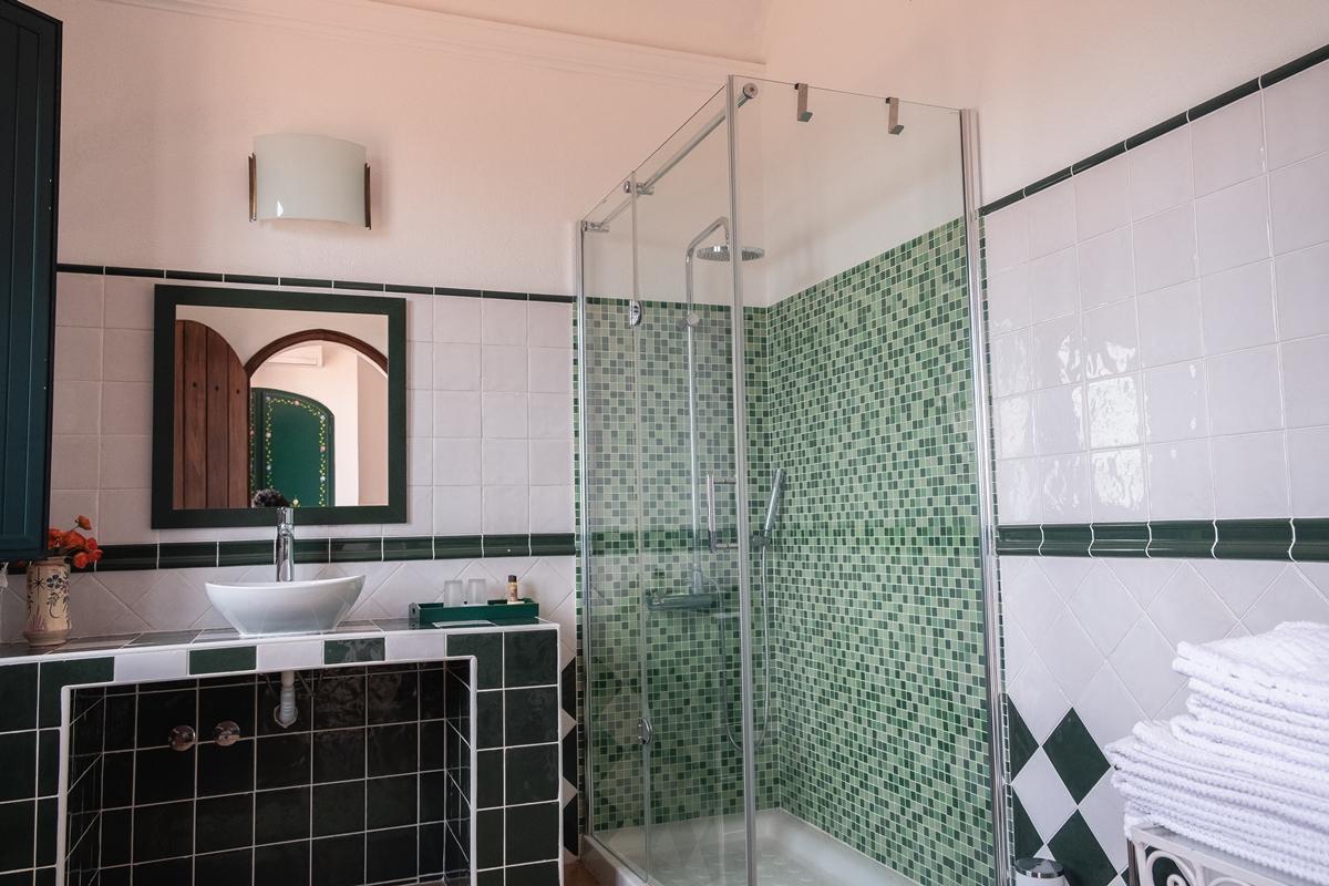 casa de banho privada Herdade Vale de Cabras Agroturismo
